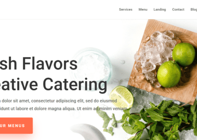 Food Catering Template